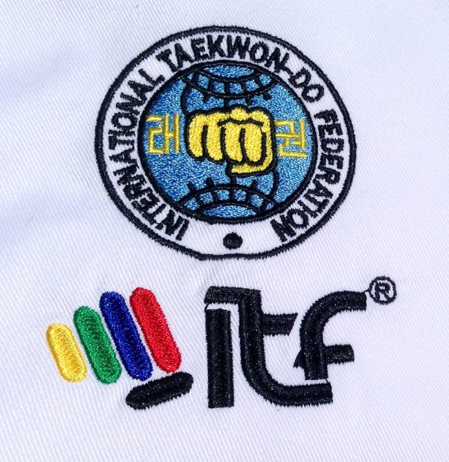 Mightyfist Beginner Dobok ITF Badge